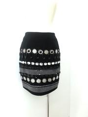 韓国ファッション タイトスカート(ラインストーン付き)