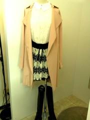 韓国ファッション ゆったりコート