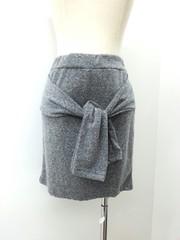 韓国ファッション カジュアル腰巻スカート