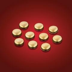 スクリューキャップ(6/8サイズ用)ゴールド