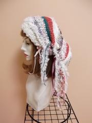帽子ターバン 白