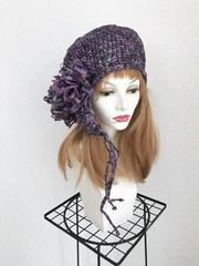 1657 紙素材ラヴリィ:紫