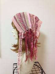 1171 リボンターバン:ピンク
