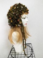 1886 ラヴリィ 小花に包まれて:グレー