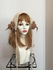 1271 羊つののヘッドドレス