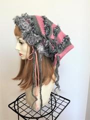 1509 帽子ターバン★モモイロインコイメージ