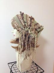 1131 帽子ターバン:森