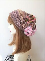 和み虹色やさしい帽子