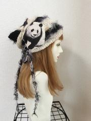 1364 クタクタパンダちゃんコットン帽子