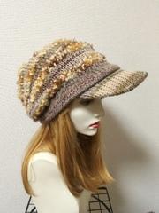 1442 和みやさしい帽子:キャスケット