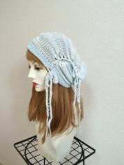 1368 お肌が弱い方用の超長綿の帽子ターバン