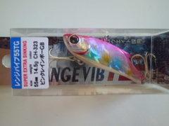 Bassday RANGE VIB55TG ピンクレインボーGB