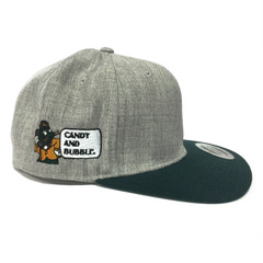 C&B CAP (Gray × DGreen)