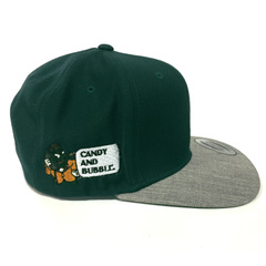 C&B CAP (DGreen × Gray)