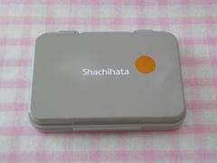 シャチハタ スタンプ台小形 茶色