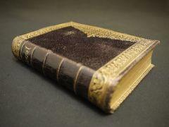 小さな革の本 PAROISSIEN ROMAIN(キリスト教の金言ブック)