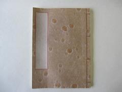和帳(和紙のノート)(出雲水玉紙) ~ 万年筆に最適!素材にこだわったオリジナル高級ノートです。