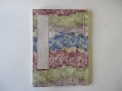 和帳(和紙のノート)(出雲雲紙・大縦) ~ 万年筆に最適!素材にこだわったオリジナル高級ノートです。