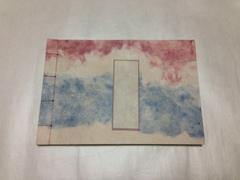 和帳(和紙のノート)(出雲雲紙・小横) ~ 万年筆に最適!素材にこだわったオリジナル高級ノートです。