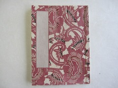 和帳(和紙のノート)(花柄) ~ 万年筆に最適!素材にこだわったオリジナル高級ノートです。