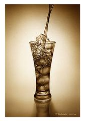 <素彩画>コーラ絵の具で描く「コーラ」 A4アートポスター