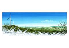 <ガッシュ>「風の通り道」 A4アートポスター
