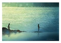 <水彩画>「暮れなずむ」 A4アートポスター