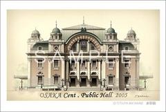 <水彩画>「大阪中央公会堂」 ポストカード