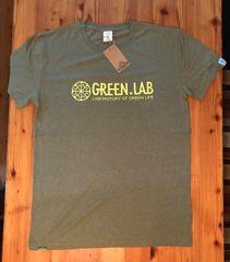 GREEN.LAB横ロゴ×SATORI Tシャツ〜  ヘンプ×オーガニックコットン