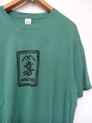 オーガニックコットンTシャツ/山喜woodcore