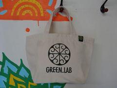 NEW!!グリーンラボロゴランチバッグ