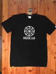 GREEN.LABロゴキッズTシャツ/SATORIボディ