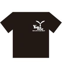 萬デザインロゴTシャツ_黒