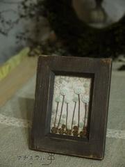 四つ葉のクローバー(額絵)