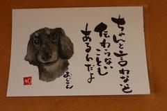 ポストカード(手描き文字)