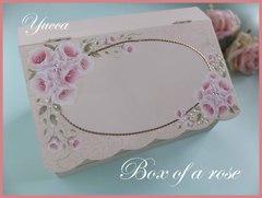 薔薇のエレガントボックス(文字入れ無料)