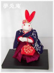 うさぎ人形(袴)-1