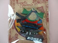 韓国チマチョゴリ石盤マグネット(勤政殿)