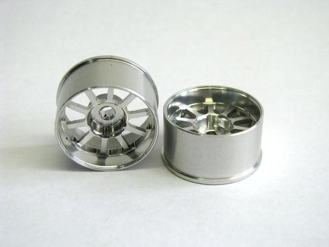 M'sレーシング AWD用 アルミホイールカイザー、ワイド、シルバー