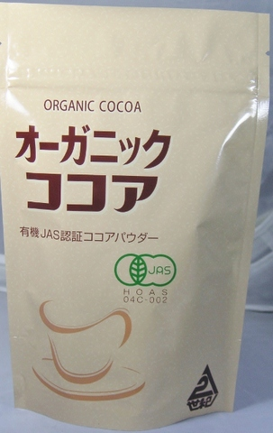 オーガニック・ココア 120g