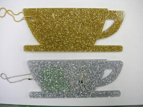 コーヒーカップ型パスケース