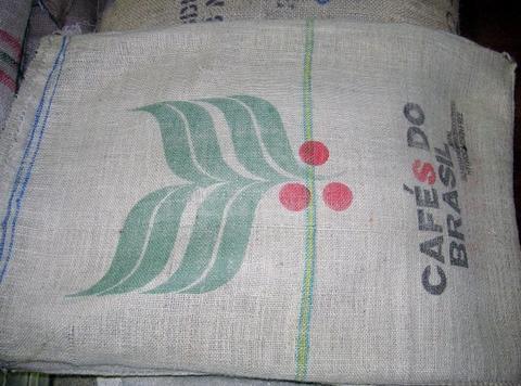 コーヒー麻袋10枚1組(ブラジル限定)