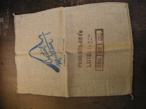 コーヒー麻袋10枚1組(ガラ指定不可)