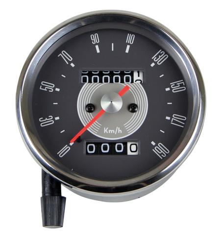 スミススタイルスピードメーター 80ミリ 1:4