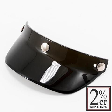オーシャンビートルヘルメットバイザー/ブラック BEETLE VISOR