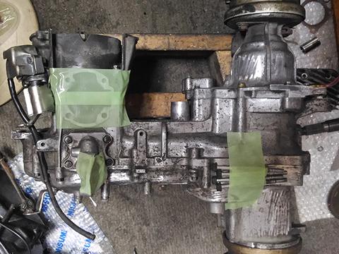 ジャイロキャノピー ベースエンジン