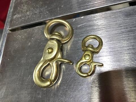 コード用真鍮製ナスカンセット