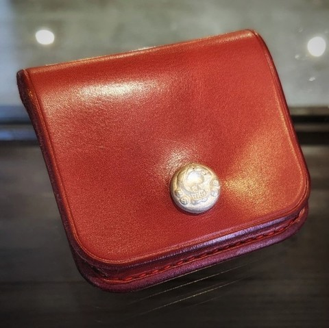 Boots Leather Coin Purse