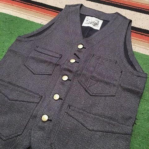 """Dapper's """"Classical Railroader Work Vest"""""""