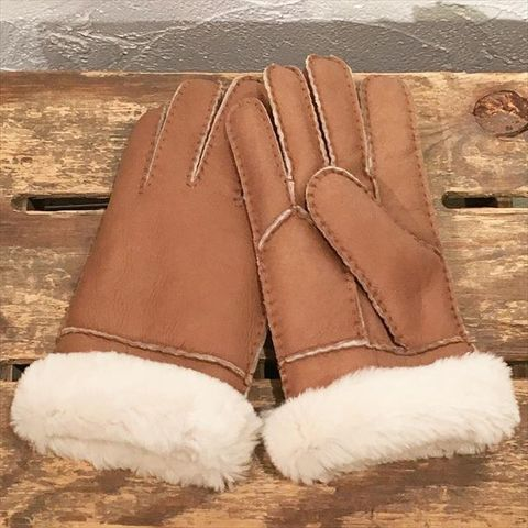 "Dapper's ""Sheep Skin Mouton Glove LOT1224"""
